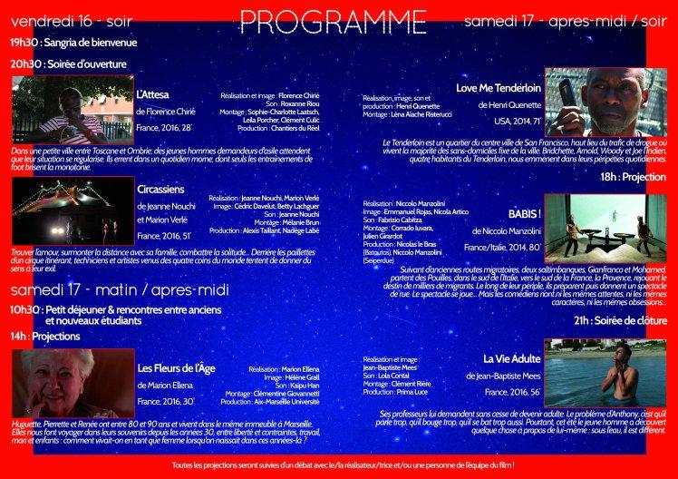 Programme l'Appel des Chantiers pages 2-3